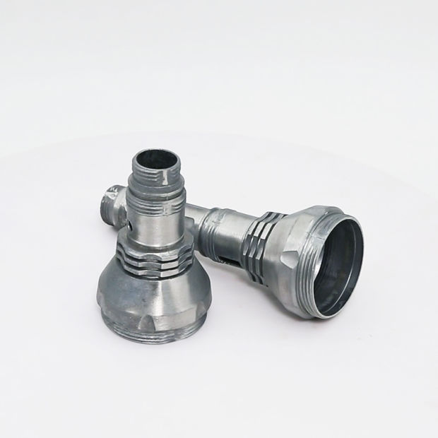 Custom Precision Investment Metal Aluminum Die Casting for Flashlight Lamp pictures & photos
