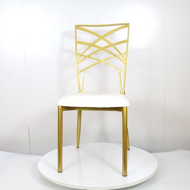 Event Furniture Steel Wedding Banquet Chair Rental