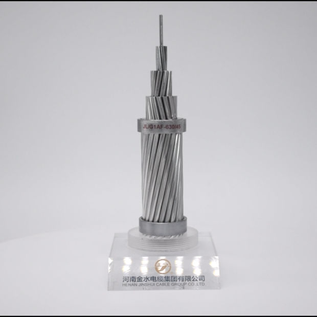 Aluminum AAC AAAC Hard Drawn Standard Bare Steel Reinforced Overhead ACSR Conductor pictures & photos