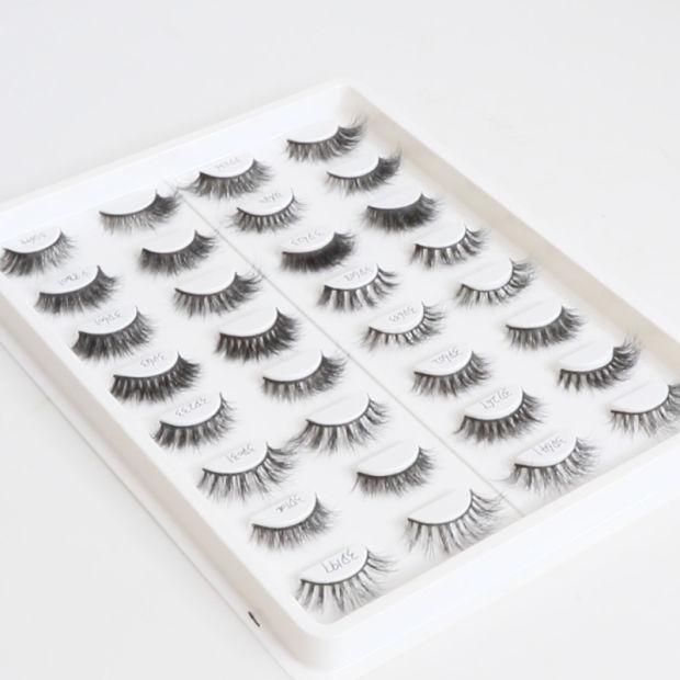 China Wholesale 3d Eyelash Soft Natural Hair Handmade Mink Eyelashes