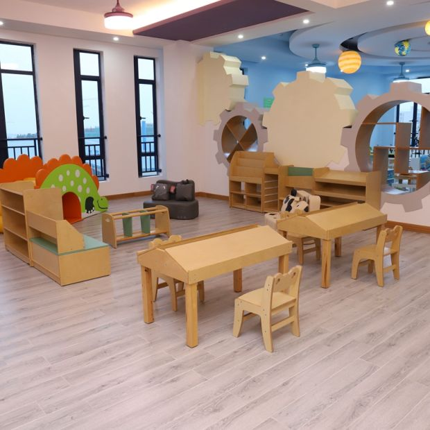Modern Children Kindergarten School Baby Bed Chair Table Products Kids Furniture pictures & photos