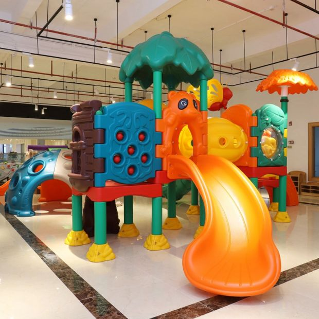 SGS Certification Amusement Park Equipment Children Play Game Toys Outdoor Playground Kids Slide pictures & photos