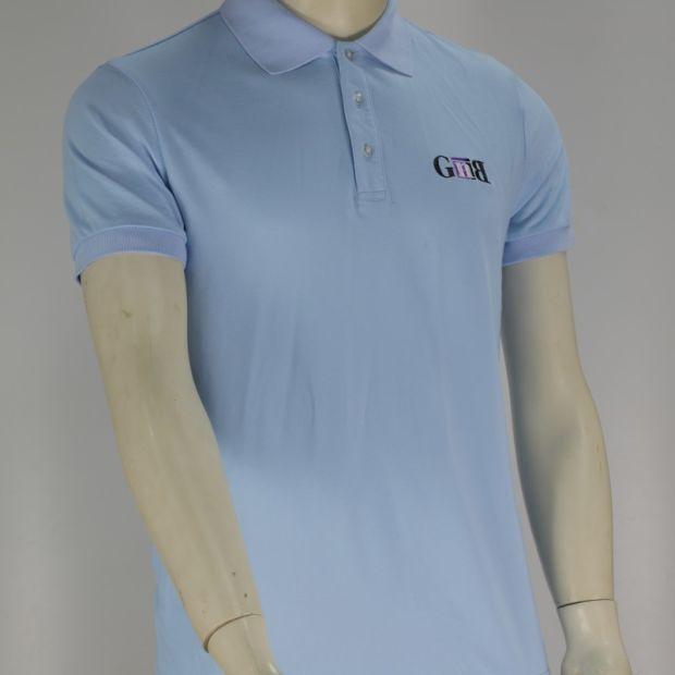Polo Hemd der passenden normalen Baumwollpolo Hemd Golf Männer trocknen