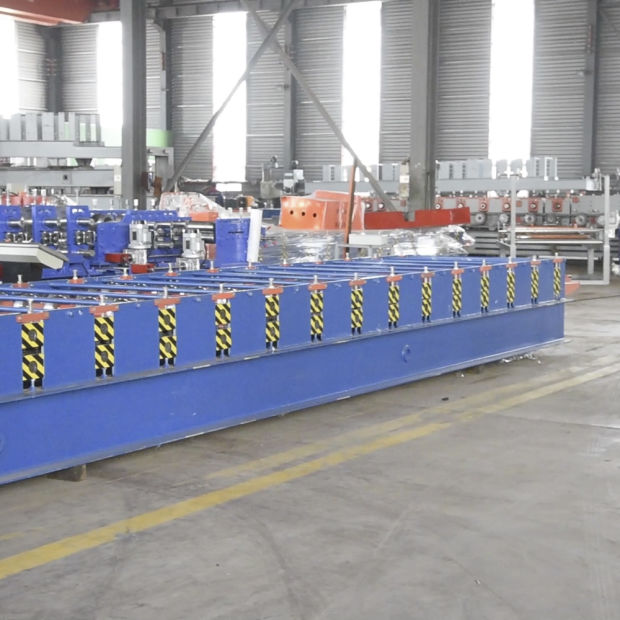 Kexinda 1080 Glazed Tile Color Roof Roll Forming Machine pictures & photos