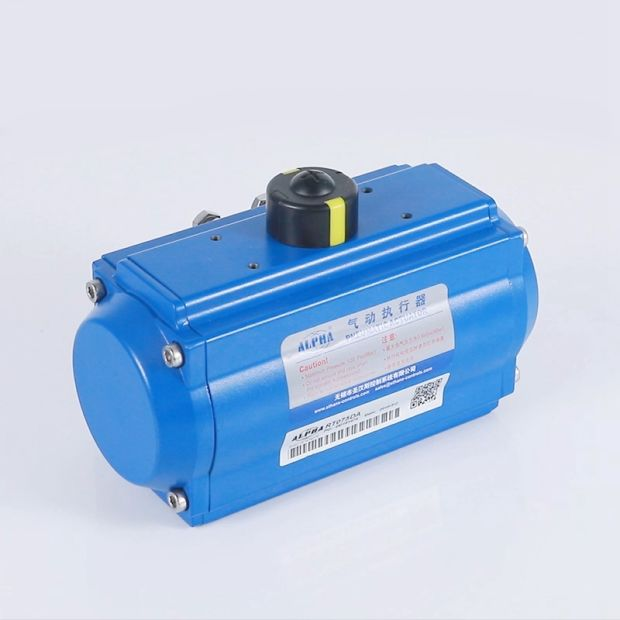 ALPHA C Series Pneumatic Ball Actuator pictures & photos