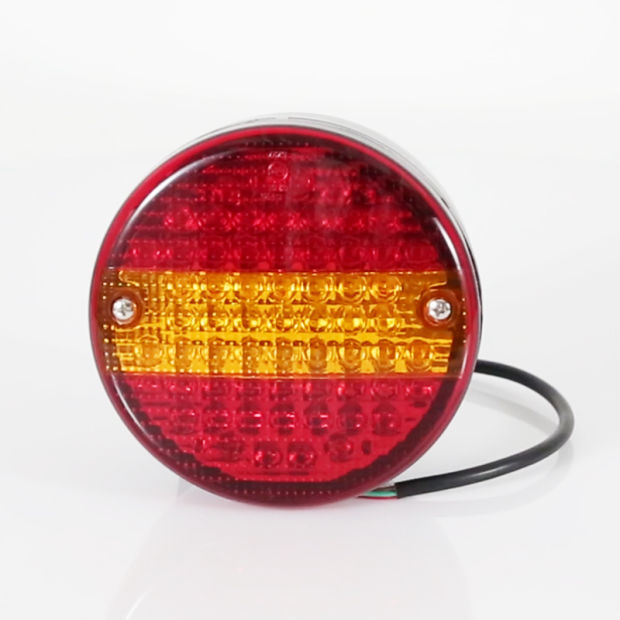 light marker base rated install moreinfo side flux and lighting lamps red chrome mmkpc kit truck trailer lights led pigtail series connector w mini rectangular high amber custom leds clearance pc