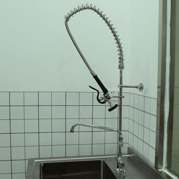 china special design brass center pre rinse unit kitchen sink faucet rh ntsmart en made in china com Wall Mount Commercial Sink Faucets Kitchen Salvage Yard East Orange True