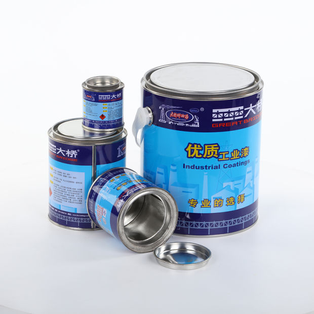 Small Round Tin Cans Metal Container for Paint, Oil, Glue, Coating or Chemical pictures & photos