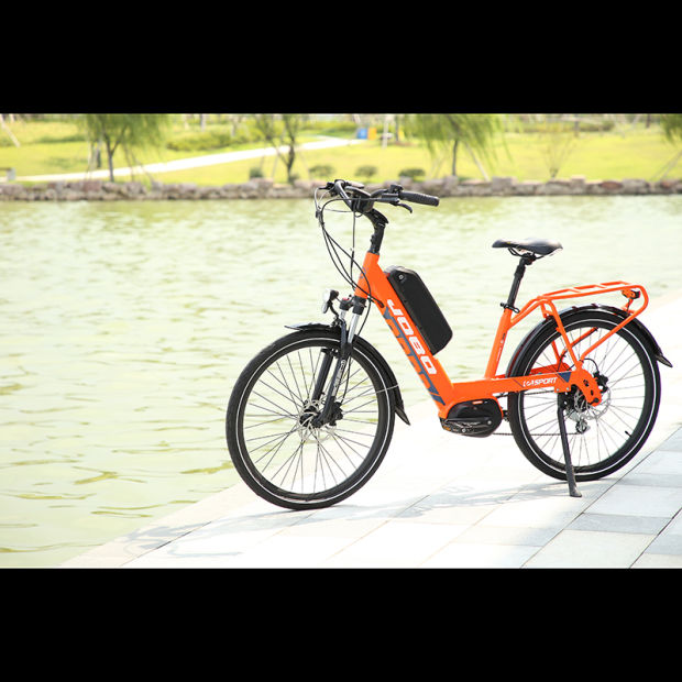 Rst Suspension 26 Inch Electric City Bike 350W Brushless Bulid in Motor pictures & photos