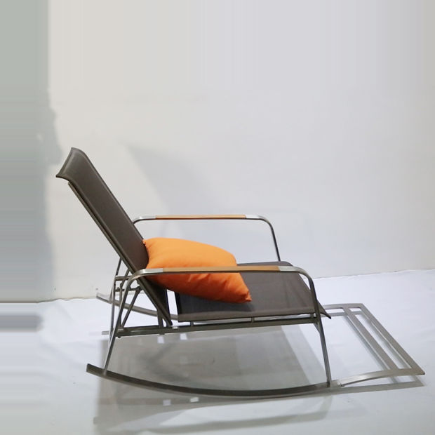 Ocio jardín silla mecedora con asiento bajo – Ocio jardín silla ...