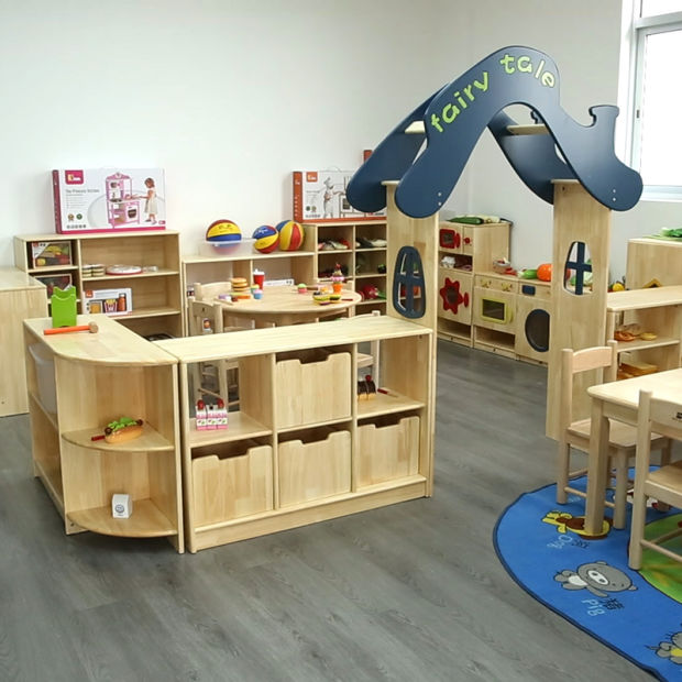 Modern Kindergarten and Preschool School Classroom Furnitures, Kids Furniture Wooden Children Furniture, Nursery and Daycare Baby Furniture pictures & photos
