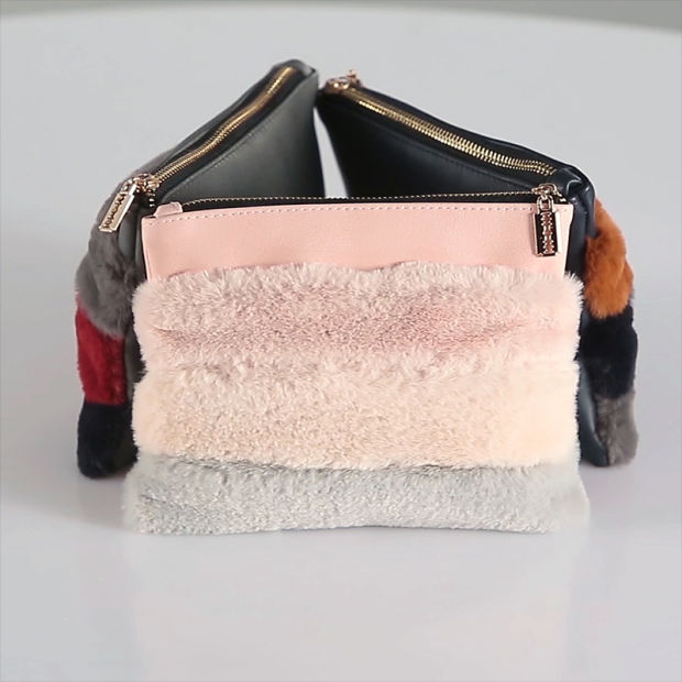 2018 Fashion Classic PU Fur Cosmetic Make up Zipper Bag Buy Makeup Cases Online  Cheap Large Makeup Cases db8d596cc9776