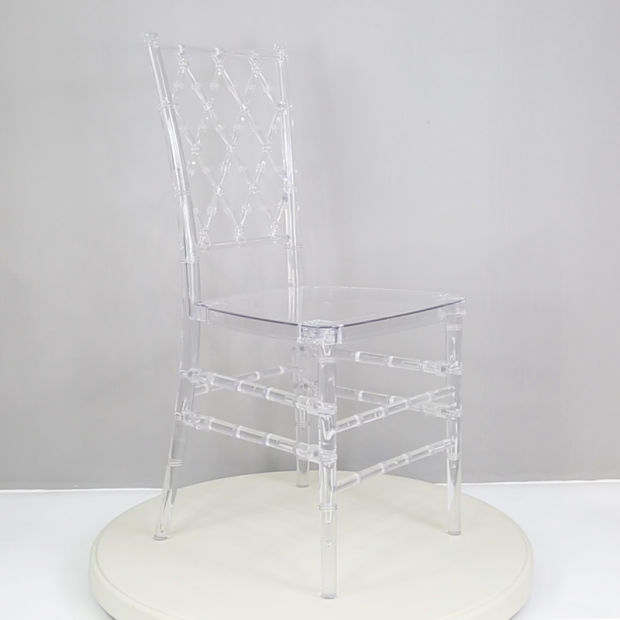 Events Rental X Back Stacking Transparent Crystal Chiavari Chair pictures & photos