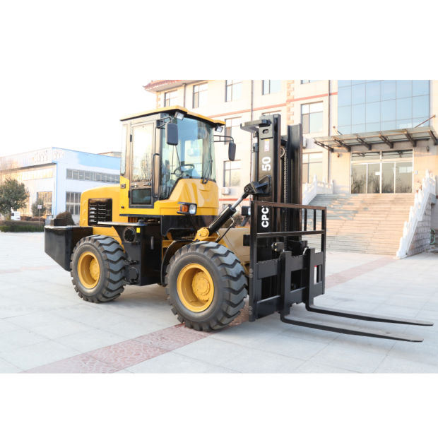 10 Ton off Road Forklift with CE (XCPCY 100) pictures & photos