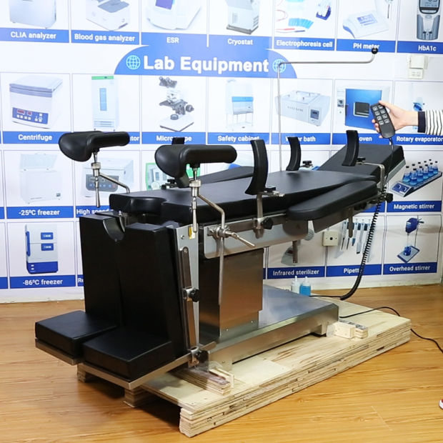 Medical Multifunctional Electric Stainless Steel Orthopedic Surgical Operation Table pictures & photos