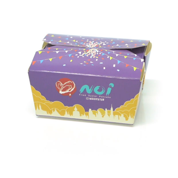 Disposable White Paper Cardboard Food Packaging Takeaway Lunch Box with Own Brand Logo pictures & photos