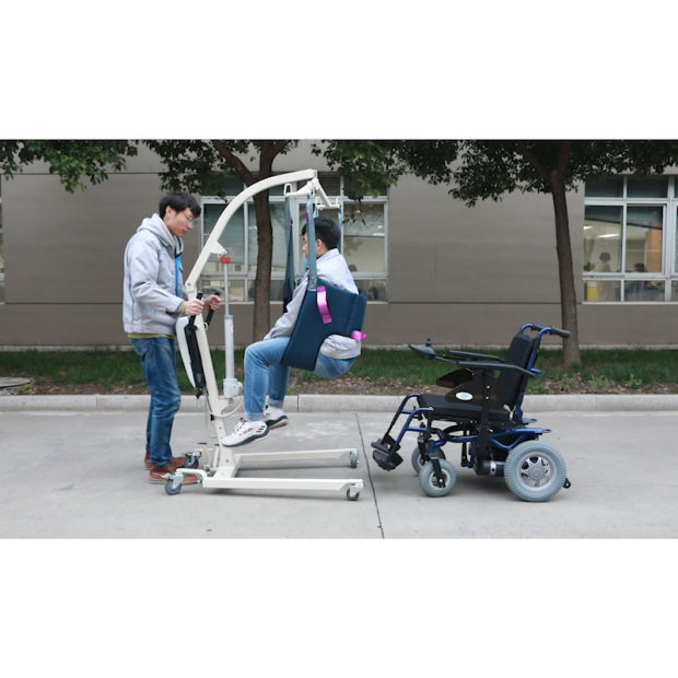 Lightweight Manual Hydraulic Patient Lift for Hospital or Homecare pictures & photos
