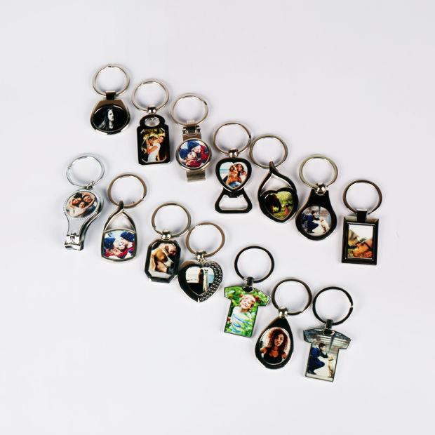 China Bestsub Promotional Zin Alloy Personalized Key Ring