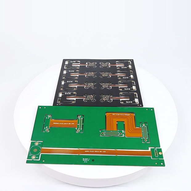 Flexible Rigid Printed Circuit Board PCB Design Green Black Oil for Automotive Flex-Rigid PCB Board FPC Medical Telecommunication Devices LED LCD SMT pictures & photos