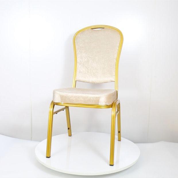 Elegant Stacking Hotel Banquet Hall Conversation Chair