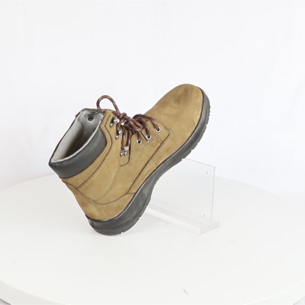 e11f665dad7 China High Quality Nubuck Leather Work Boots for Women - China ...
