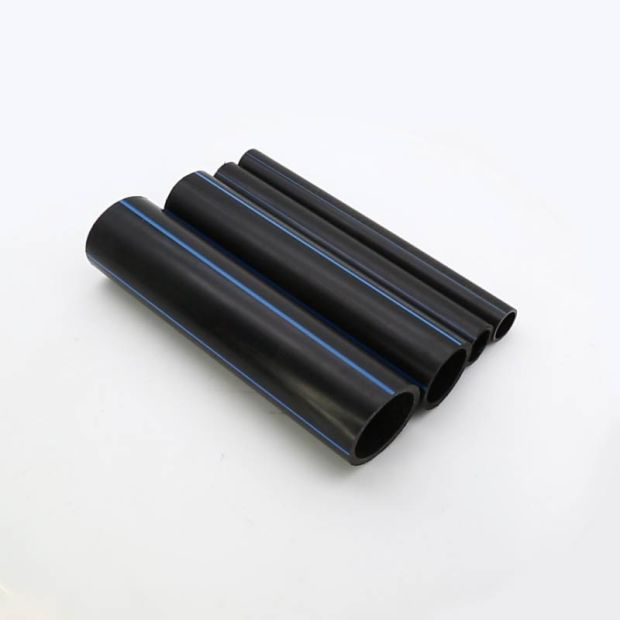 Full Range Diameter Black Color HDPE Plastic Pipe for Water Supply pictures & photos