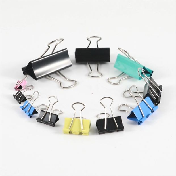 Good Quality Black Binder Clips for Office pictures & photos