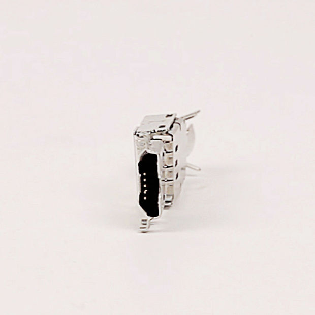 Micro USB 5pin Plug Connector with Shell and Back Cover Three in One Dis-Assemblied pictures & photos