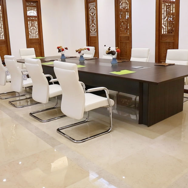 China New Design Dark Oak Wooden Meeting Table Conference ...