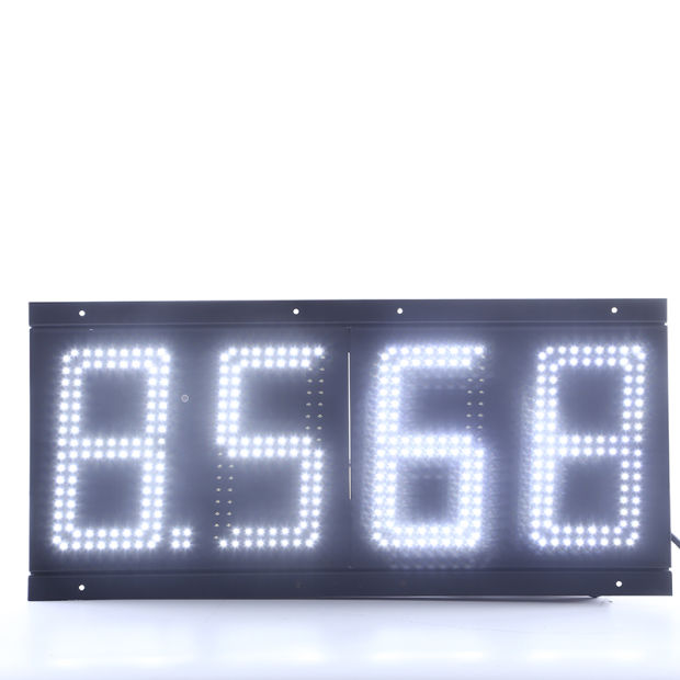 6 Inch LED Gas Price Changer Sign (NL-TT15SF9-10-3R-AMBER) pictures & photos