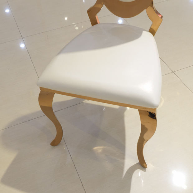 High Back Chair Home Furniture Dining Chair Gold Hotel Chairs pictures & photos