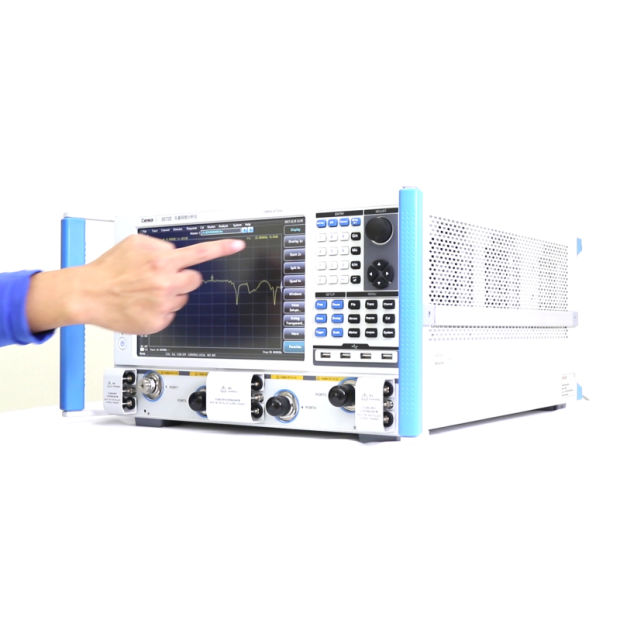 3672-S Serious Vector Network Analyzer, High Frequency Vna Equal to Agilent  R&S (10MHz~13 5 GHz/26 5 GHz/43 5 GHz)