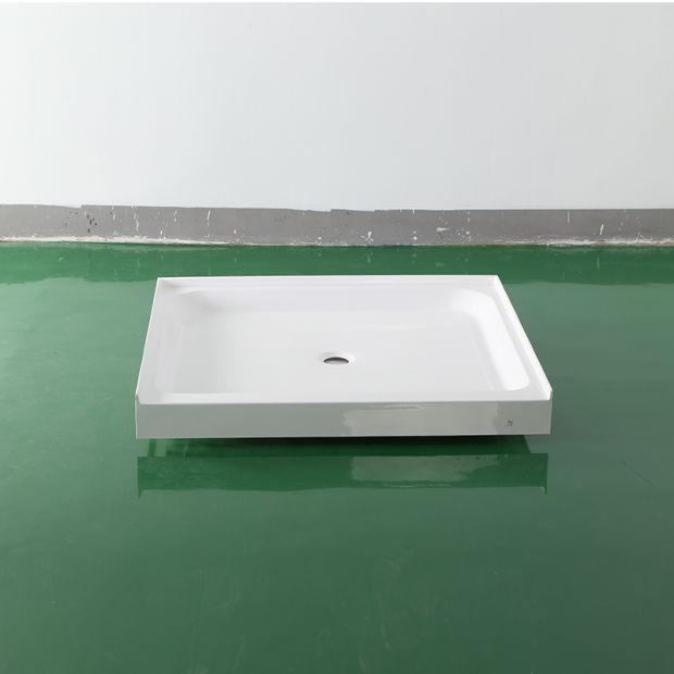 China Cupc Canada United States Acrylic Tile Flange Shower Base ...