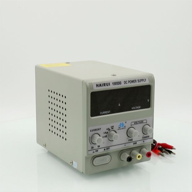 HAIRUI Precision Adjustable 15V 5A LED Digital Display Switching DC Power Supply pictures & photos