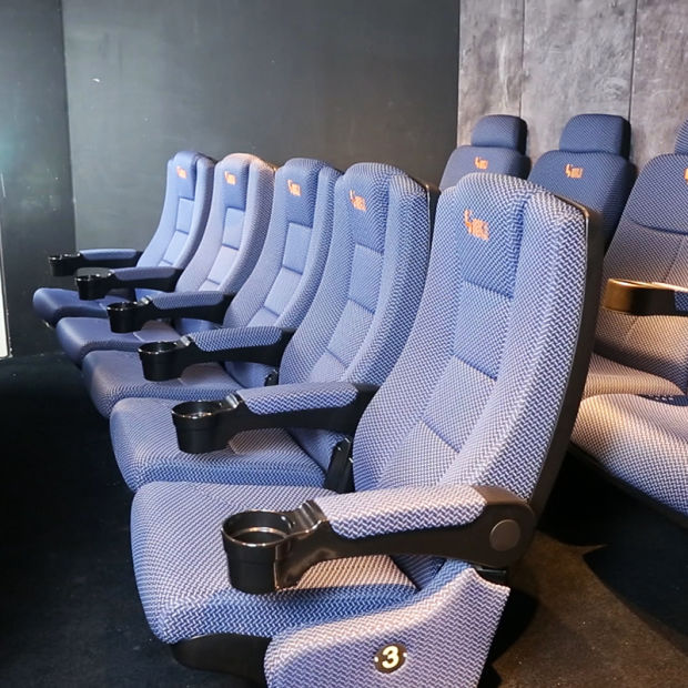 Rocking Pushing Back Multiplex Auditorium Home Cinema Theater Seating pictures & photos