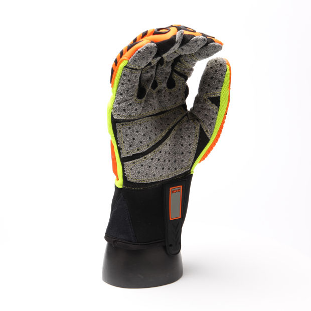 Anti-Slip Impact Resistant Mechanical Safety Work Gloves with Hand Protective TPR pictures & photos