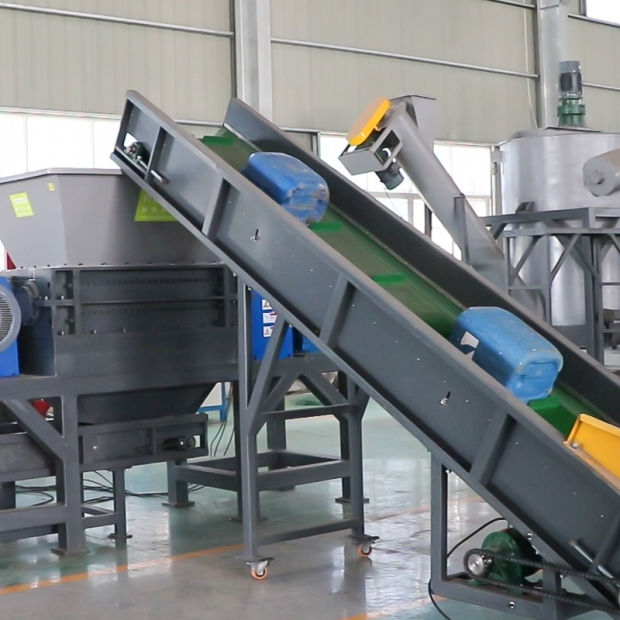 Heavy duty double Shaft Shredder Machine for waste plastic recycling pictures & photos