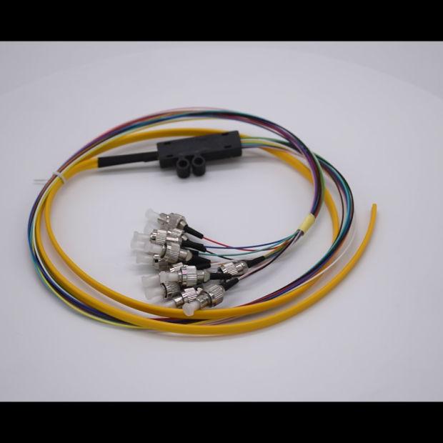12 Strand 9//125 Fiber Optic Pigtail 1.2m SC//UPC Single Mode,12 fiber pigtail