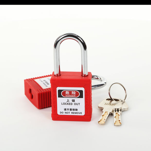 38mm Steel Shackle Safety Padlock Lockout (BD-G01) pictures & photos