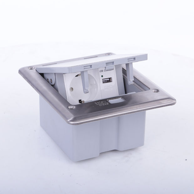China Ip66 Outdoor Waterproof Floor Box With Switches And