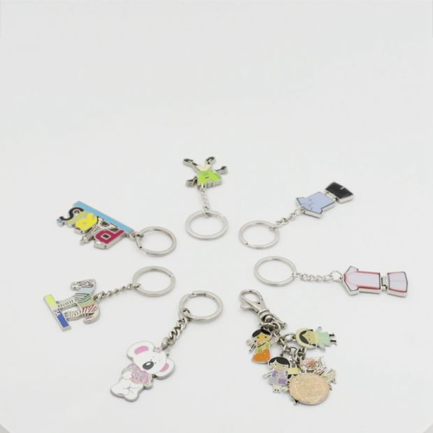 BSCI Factory Custom Metal Keychain/Coin Keyring/Enamel Wholesale Key Chain, No MOQ pictures & photos