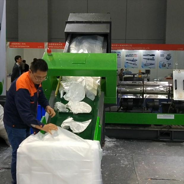 Chine Recyclage des déchets en plastique ABS PP PE PC vis