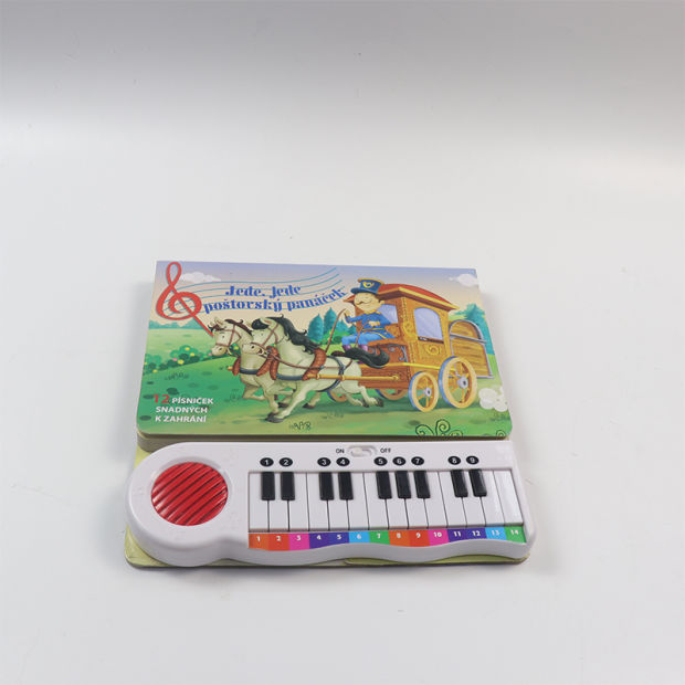 Customized Children Push Button Fantastic Music Sound Books pictures & photos