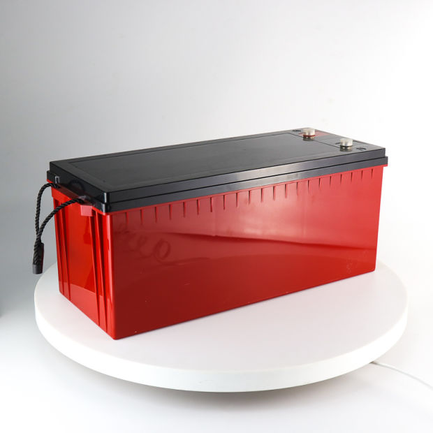 Htl12V200ah Deep Cycle Solar Gel Battery with 20years Life pictures & photos