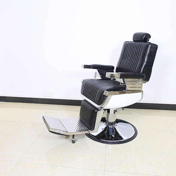 China Salon Furniture Barber Chair Portable Reclining Barber