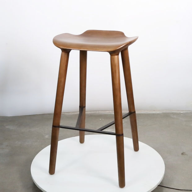 Hot Item 2019 Hot Sale Solid Wood Living Furniture Bar Stools