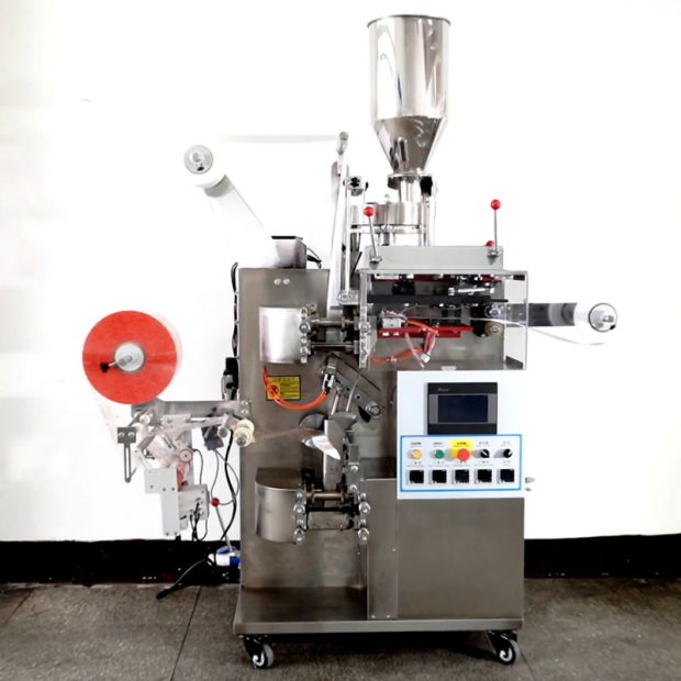 Wholesale Pounch Tea Bag Filling Packaging Machine with Thread and Label pictures & photos