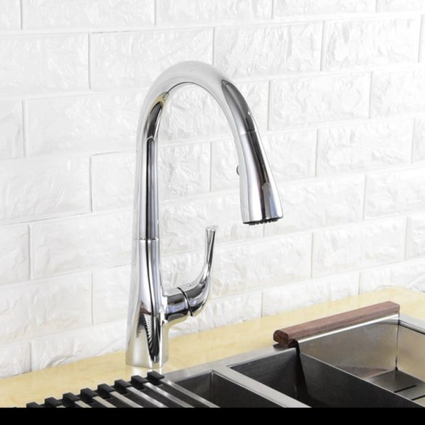 China High Quality Sink Faucet Deck Mounted Installation Pull-Down ...