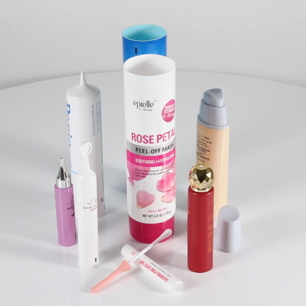 Empty Round Shaped Plastic Soft Tubes, Cosmetic Packing Tube pictures & photos