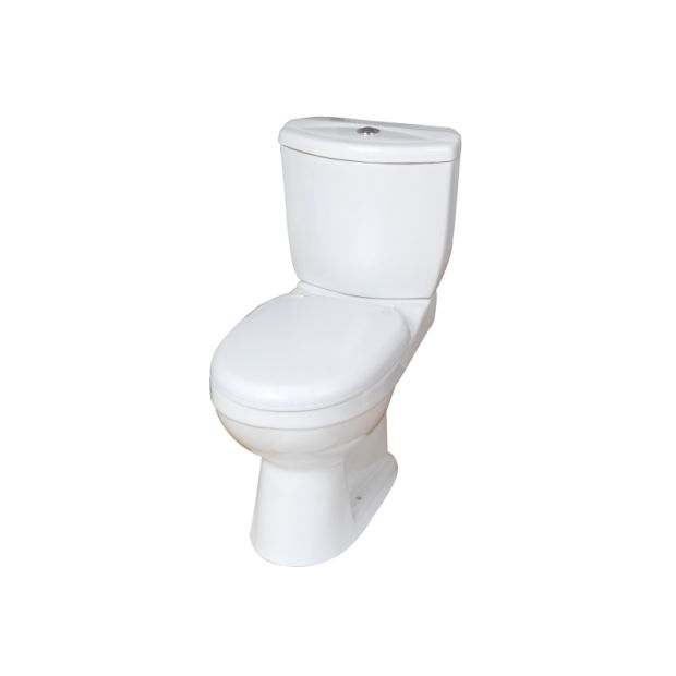Competitive Price Two Pieces Ceramic Twyford Toilet for Africa and MID East pictures & photos